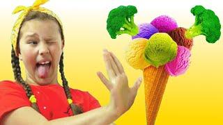 ¿Te Gusta El Helado De Brócoli? - Canción Infantil | Canciones Infantiles con Miss Emi