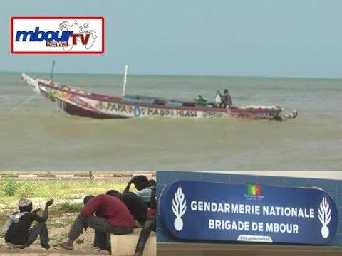 Émigration clandestine : 45 candidats arrêtes en pleine embarcation a Mbour