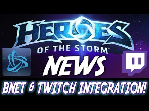 BNET & TWITCH TV INTEGRATION! - Heroes Of The Storm News