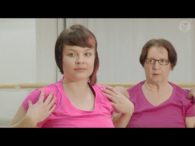 Liikettä niveliin-Tuolijumppa: Alkulammittely