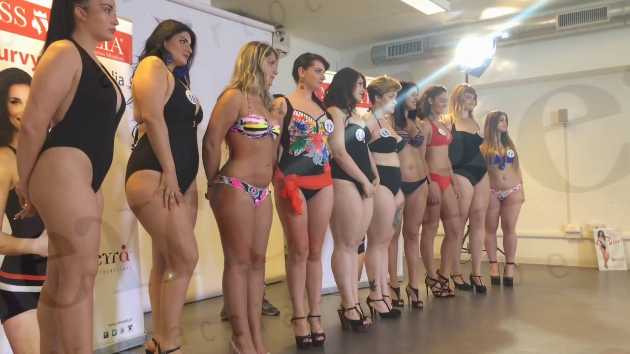 La Curvy di Miss Italia Keyr 2016  Casting Roma  YouTube