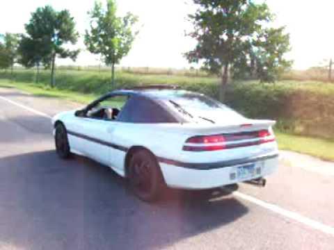 1990 Eclipse Turbo gst takeoff - YouTube