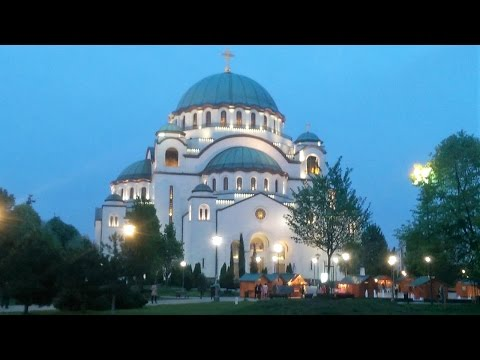 Church of Saint Sava, Belgrade - Easter 2017