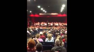Oakland middle school 6th grade band concert