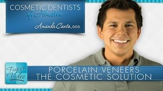 Houston Porcelain Veneers: A Cosmetic Solution to Many Dental Problems Thumbnail