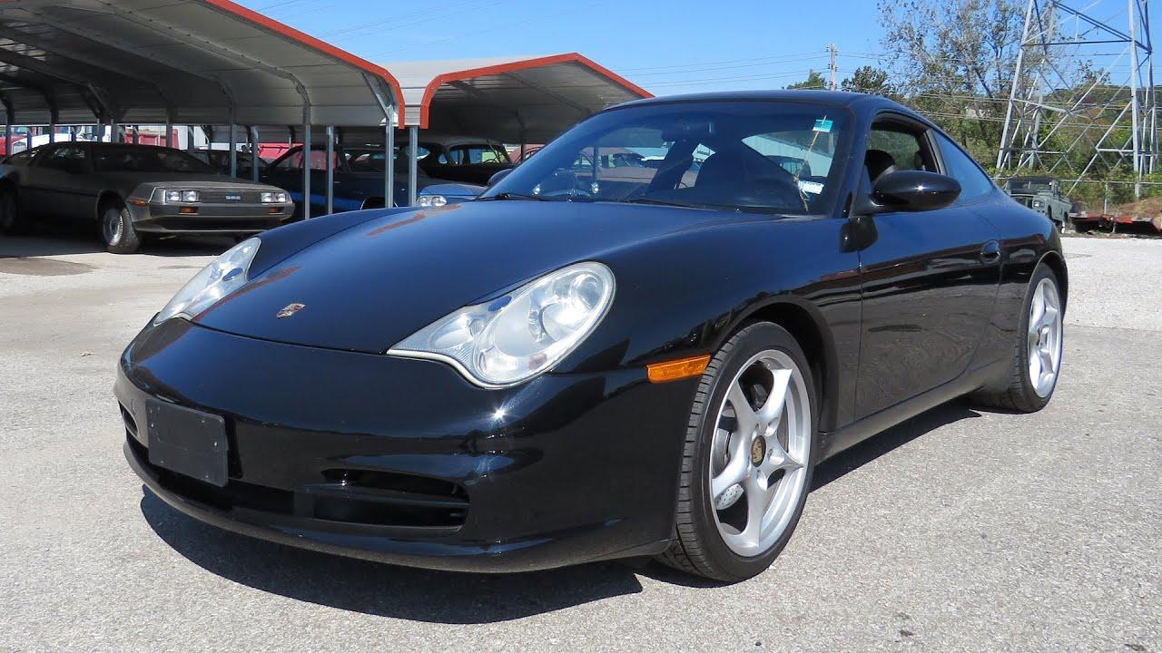 2002 Porsche 911 Carrera Tiptronic Full Tour Start Up And Short Test Drive
