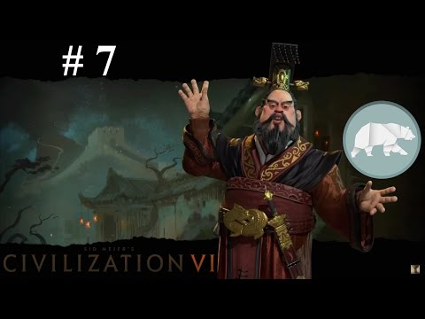 Let's Play Civilization VI - Another Brick In The Chinese Wall #7