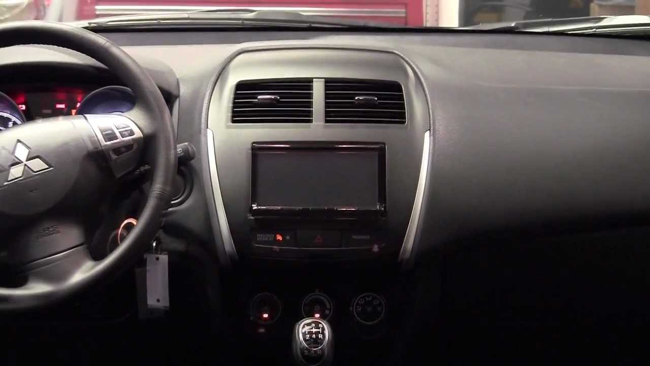 Metra Mitsubishi Outlander Sport 2011 Up 99 7014b Dash Kit Youtube 2015 Wiring Diagram