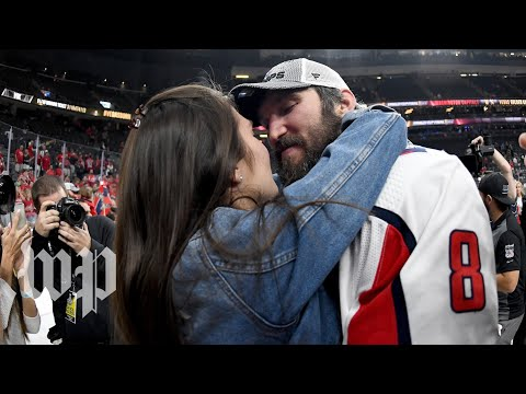 The emotional moments when Capitals players reunited with their loved ones after the Stanley Cup win