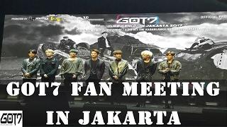 170218 GOT7 Fan meeting in Jakarta