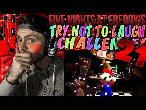 Vapor Reacts #529 | [FNAF SFM] FIVE NIGHTS AT FREDDY'S TRY NOT TO LAUGH CHALLENGE REACTION #21