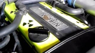 SUPROTEC + оригинальное масло nissan 5w40, работа двигателя(работа rb20det пробег 54т.км. в теле r33 купе залито оригинальное масло nissan 5w40 и триботехнический состав Suprotec..., 2015-05-02T14:56:52.000Z)
