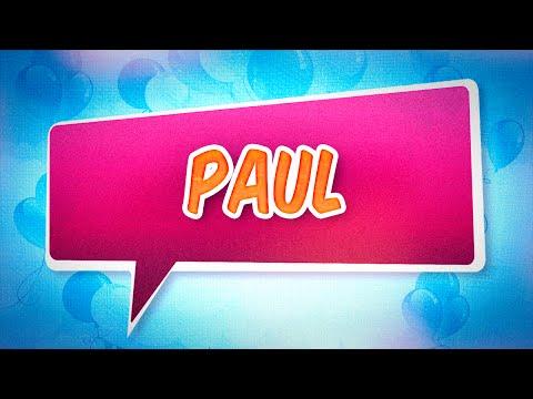 Joyeux anniversaire Paul