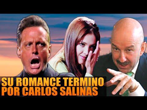 Romance entre Adela Noriega y Luis Miguel Termino por Carlos Salinas.
