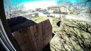Cedar Fence Construction Time Lapse (hd)
