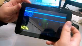 видео Hard Reset для планшета Prestigio MultiPad