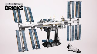Lego Ideas 21321 International Space Station Speed Build
