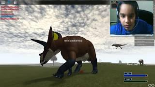 Roblox Primal Leben     Dinosaurier-Rezension     triceratops     Dino-Spiel     Spiel     Hrithik