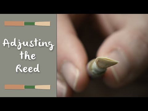 Adjusting Your Oboe Reed - (Something to Crow About!)