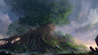 truyền thuyết về cây thế giới Yggdrasil trong thần thoại Bắc Âu