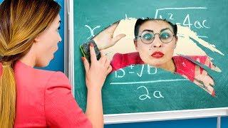 학교에서 해보는 9가지 DIY / 수업시간 장난!