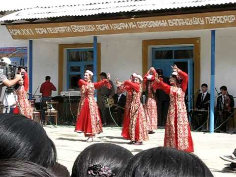 Tajik traditional folk dancing, Wakhan Valley, Tajikistan