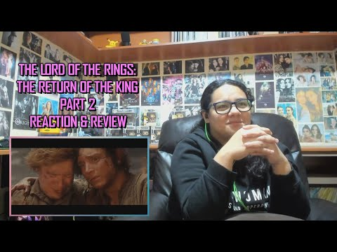 The Lord Of The Rings: The Return Of The King Part 2/2 MOVIE REACTION & REVIEW | JuliDG