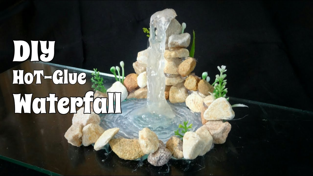 How To Make A Craft Waterfall