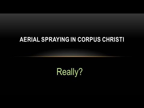 Aerial Spraying for West Nile Virus - Corpus Christi, TX