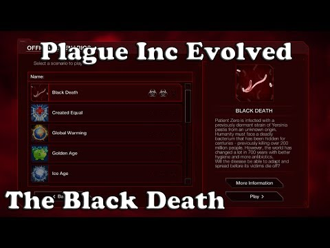 Plague Inc Evolved Scenario - The Black Death