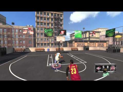 Stephen Curry vs Lebron James NBA 2K15
