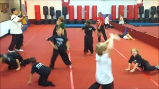 Nee's Kung Fu  Summer Camp 2014 Kung Fu Shake P1