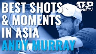 Andy Murray Best Shots & Moments in 2019 Asian Swing