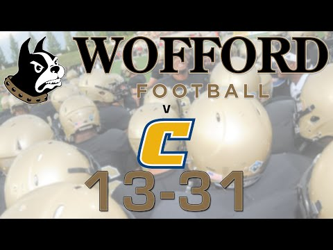 Inside Wofford Football - Chattanooga 2014