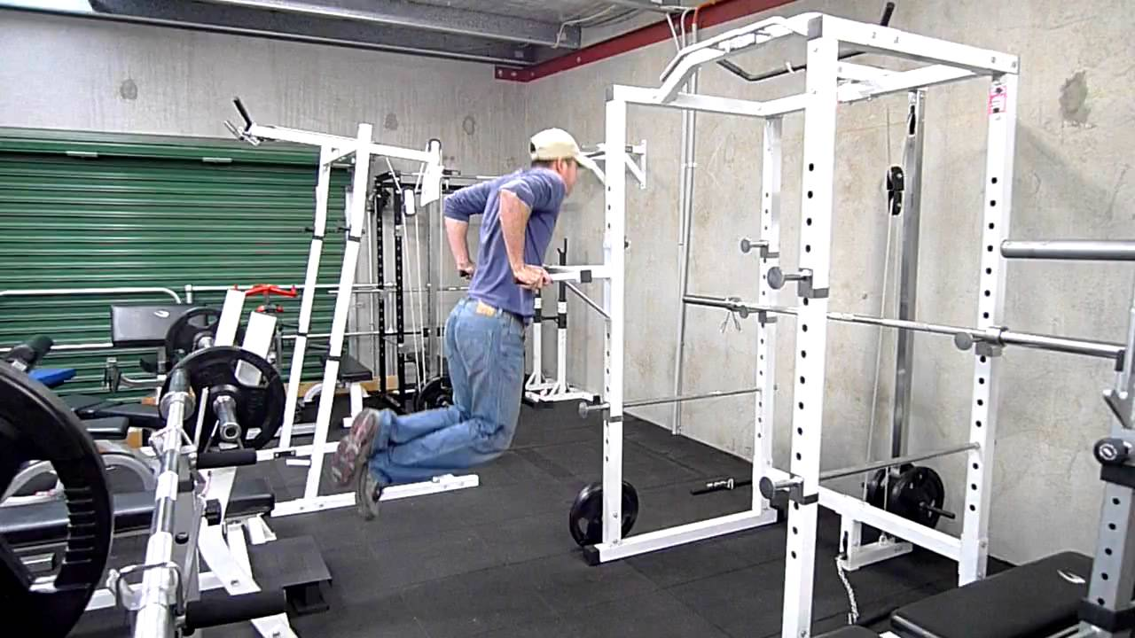 Muscle Motion Power Rack Dip Attachment Youtube