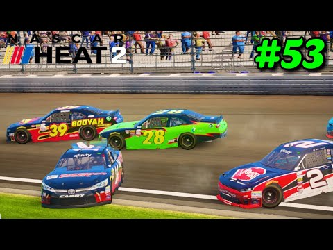 """Disappointment At Indy"" NASCAR Heat 2 NXS S2 Career Mode Part 53"