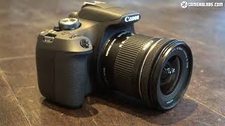 Canon EOS 2000D Rebel T7 review - brief overview