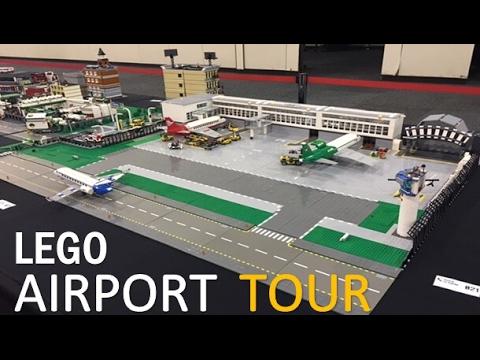 Lego Airport Progress Custom Moc Youtube