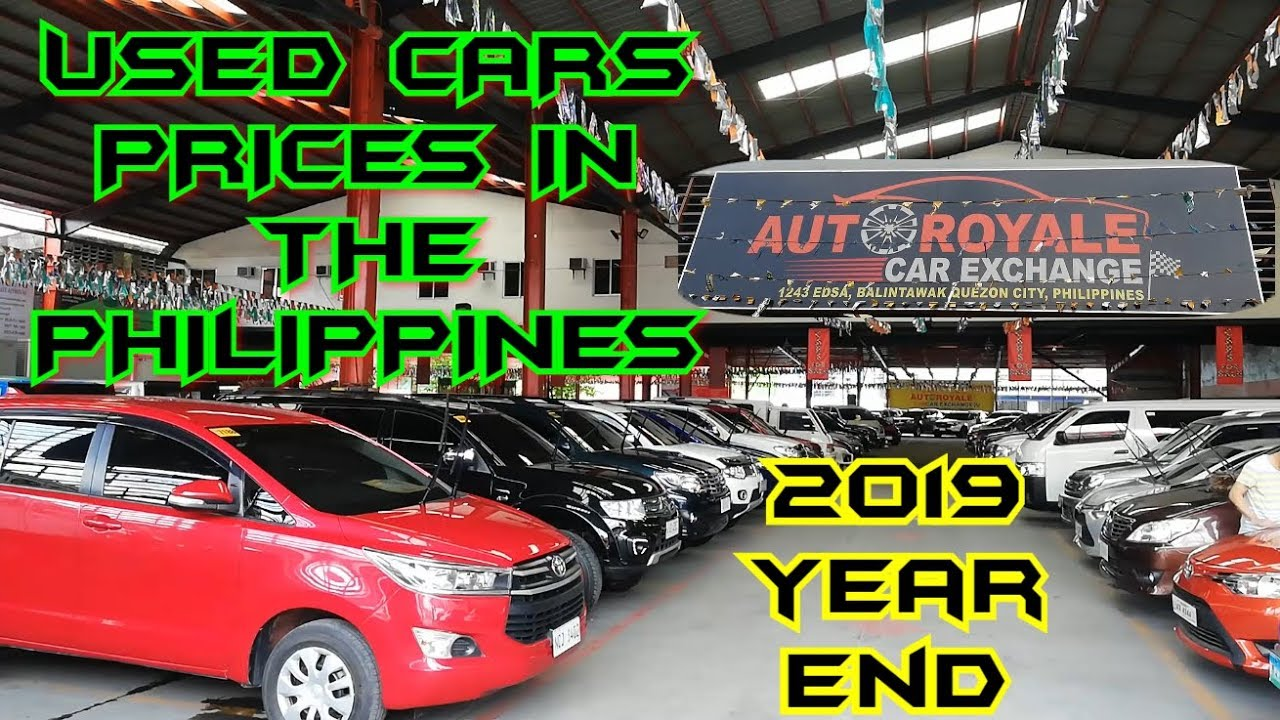 Second Hand Cars Prices Autoroyale Car Exchange December 2019 Year End Prices Youtube