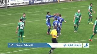 Viktoria Aschaffenburg - SV Schalding-Heining (Regionalliga Bayern 15/16, 28. Spieltag)