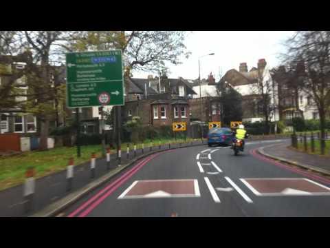 London Streets (451.) - Lambeth - Kennington - Clapham - Putney - East Sheen