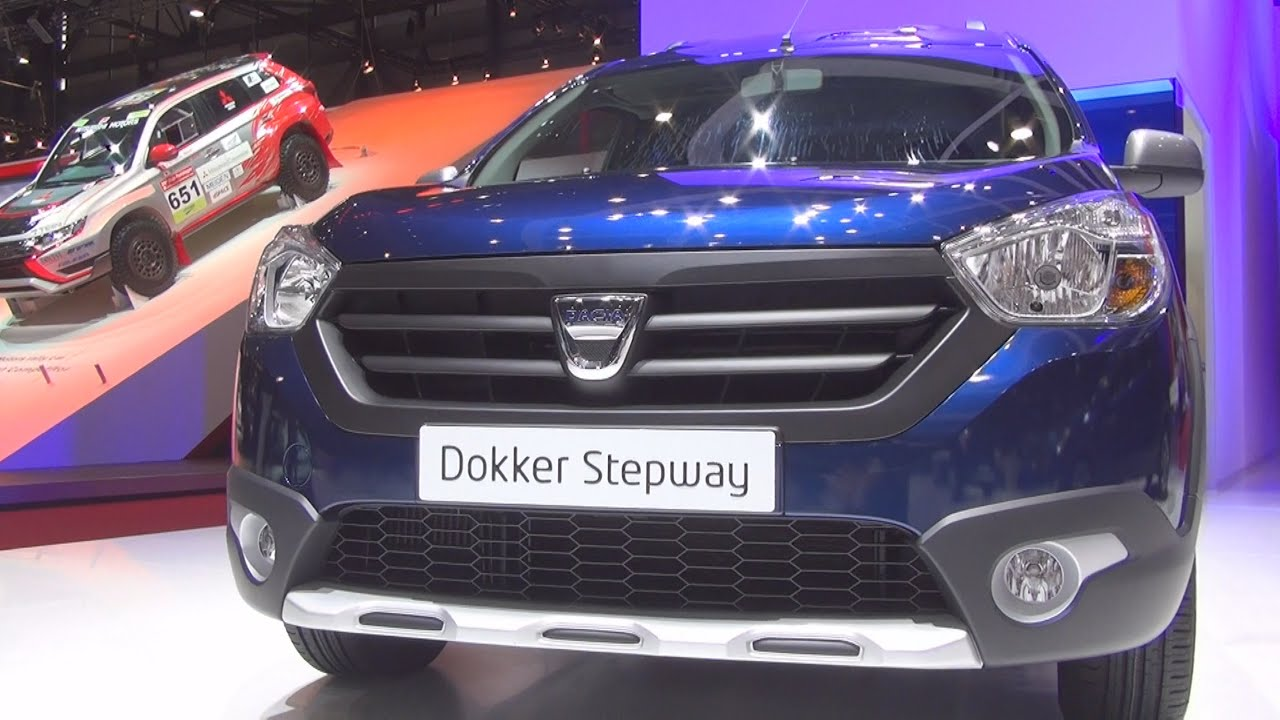 dacia dokker stepway tce 115 start stop 2016 exterior. Black Bedroom Furniture Sets. Home Design Ideas