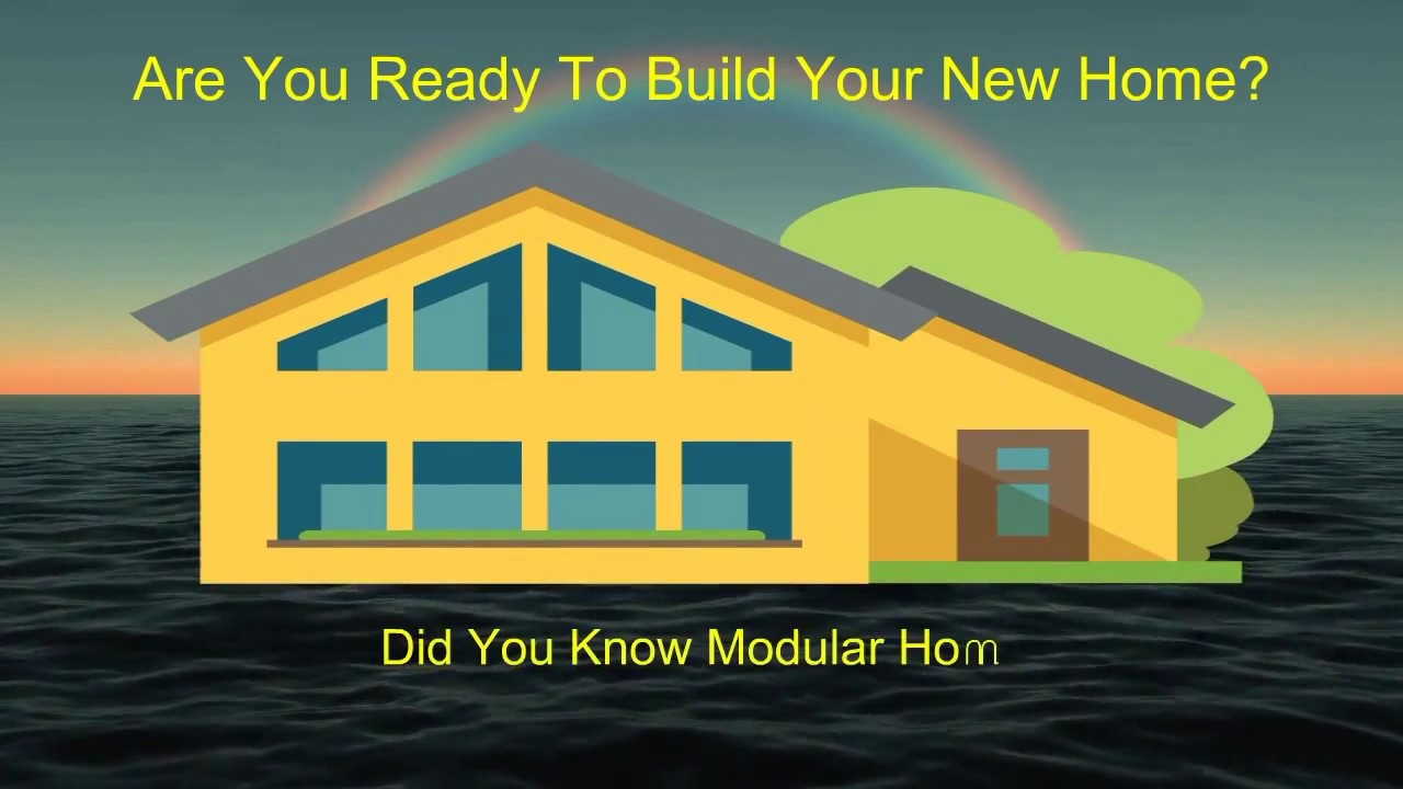 When Building A New Home What To Know modular home facts you need to know before you buy! - youtube