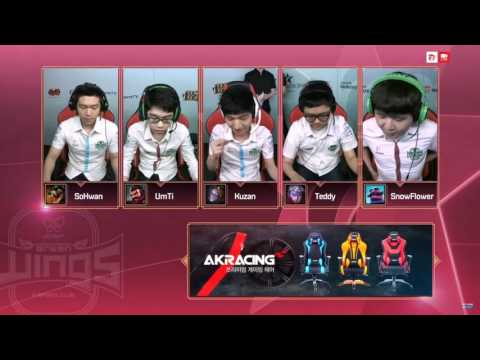 《LOL》2017 LCK 夏季賽 W4D5 SSG vs JAG game 1