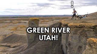 I HIT THE SEMENUK DROP!  Insane FREERIDE Playground!! Green River, Utah | Jordan Boostmaster