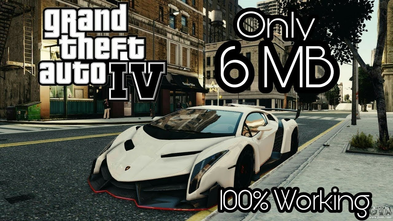 (300 MB) GTA 4 Download For PC Highly Compressed 100% Working