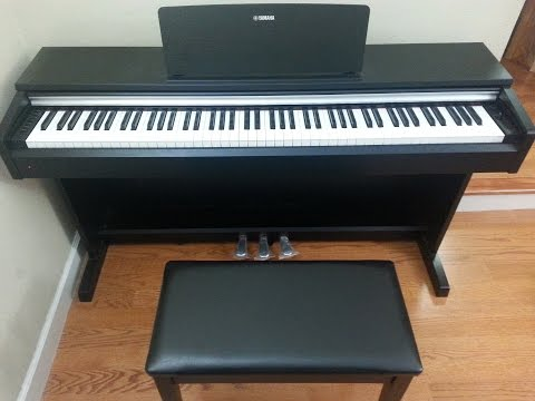 yamaha arius ydp143 vs ydp163 digital piano what 39 s the difference a quick comparison. Black Bedroom Furniture Sets. Home Design Ideas