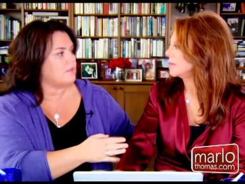 Marlo Thomas With Rosie O'Donnell
