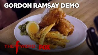 Gordon Ramsay Demonstrates How To Make Fish & Chips: Extended Version | Seas