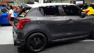 Suzuki Swift 2018 แต่งโชว์ งาน Big Motor Sale Video